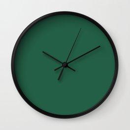 Seaweed Green Wall Clock