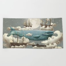 Ocean Meets Sky Beach Towel