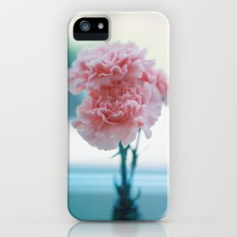 carnations iPhone Case