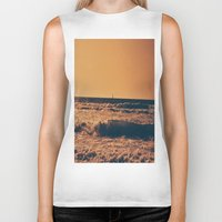 boat Biker Tanks featuring boat by Catalina Matei
