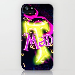 Mad Tea Party 8 iPhone Case