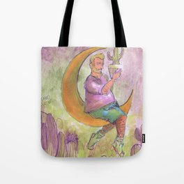 cactus boy in the moon Tote Bag