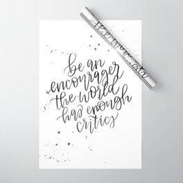Be an Encourager Wrapping Paper