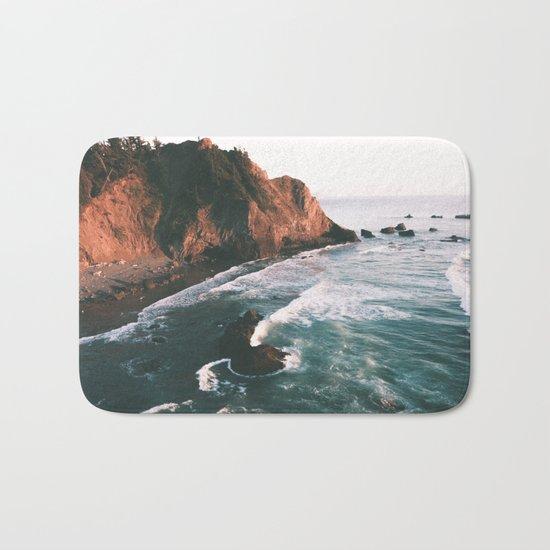 Oregon Coast V Bath Mat