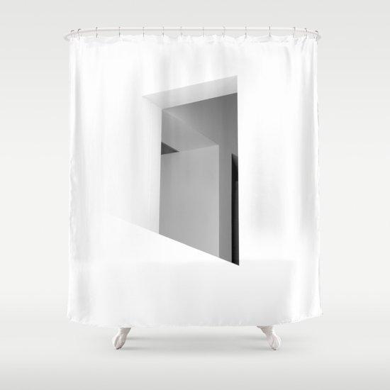 There. Macba, Barcelona Shower Curtain