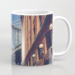 Manhattan Bridge from DUMBO Coffee Mug