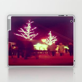 Pink trees Laptop & iPad Skin