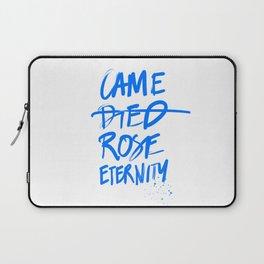 #JESUS2019 - Came Died Rose Eternity (blue) Laptop Sleeve