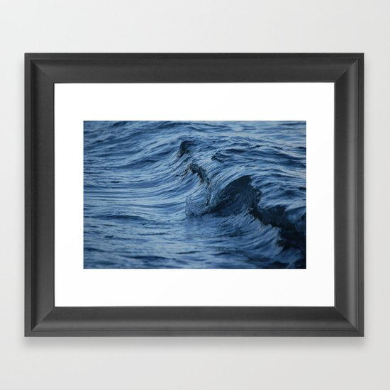 Raw Wet Framed Art Print