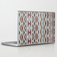 diamonds Laptop & iPad Skins featuring Diamonds by ghennah