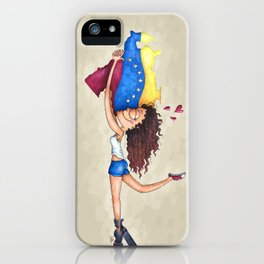 I love Venezuela iPhone Case