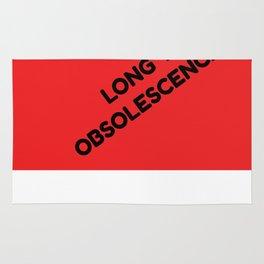 Long Live Obsolescence Rug