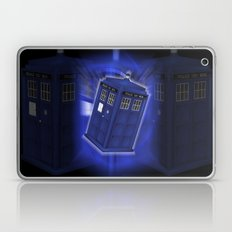 Tardis Through Time - Dr Who Laptop & iPad Skin