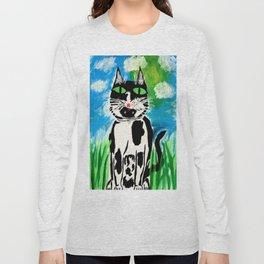Fenian My Cat Long Sleeve T-shirt