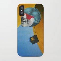 Collapsed Head iPhone X Slim Case