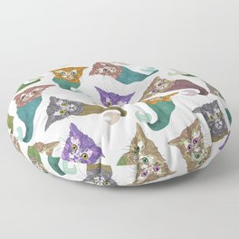 Cat Piranhas Floor Pillow