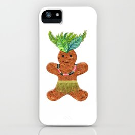 Tropical Gingerbread iPhone Case