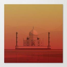 Taj Mahal, India. Canvas Print