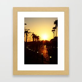 Feel the Moment Framed Art Print