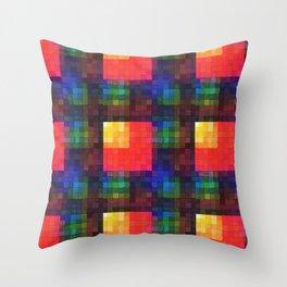 Dyenamic Throw Pillow