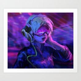 Future DJ Art Print