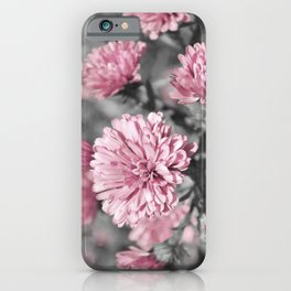 Blushing Gray iPhone Case