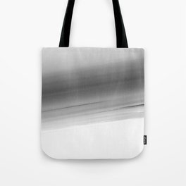 Gray Smooth Ombre Tote Bag