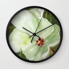 Flower One Wall Clock
