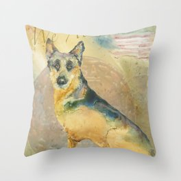 We Also Serve Throw Pillow