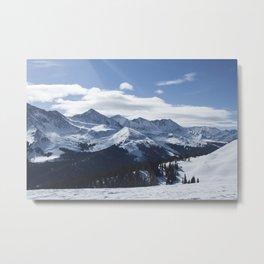 Copper Mountain Metal Print
