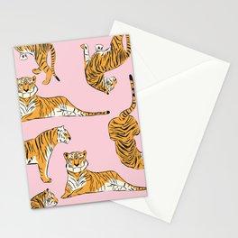 Tiger Pattern 001 Stationery Cards