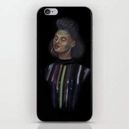 Distinguished young lady iPhone Skin