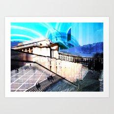 v1bsyn Art Print