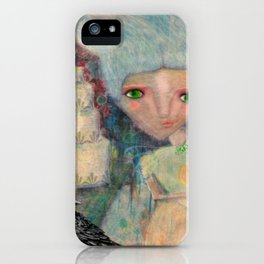 Great Expectations' Miss Havisham  iPhone Case