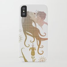 Blinded by selfishness Slim Case iPhone X