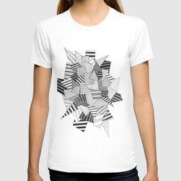 abstract crystal T-shirt