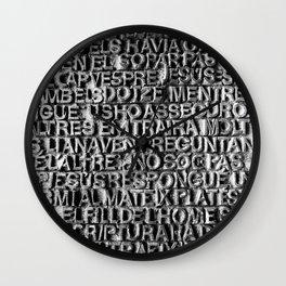 La Sagrada Familia, Barcelona Wall Clock