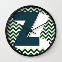 dragonball z Wall Clocks featuring Z. by Muro Buro