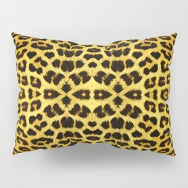 Leopard Print - Gold Pillow Sham