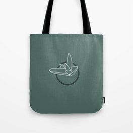 Succulent Haworthia Black and White Line Drawing Tote Bag