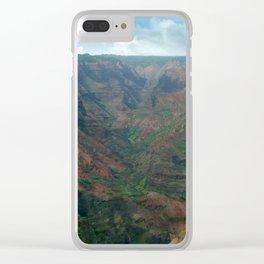 Waimea Canyon Clear iPhone Case
