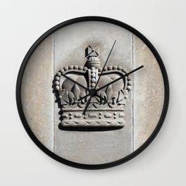 Crown Wall Clock