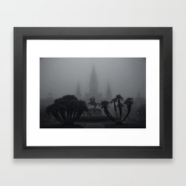 New Orleans Fog Framed Art Print