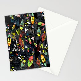 Tribal Fish Stationery Cards