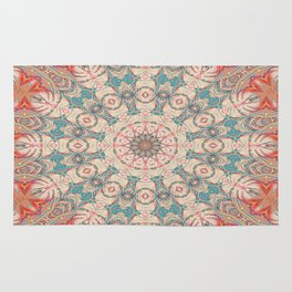 Jungle Kaleidoscope 3 Rug