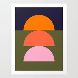 Spring- Pantone Warm color 03 Art Print