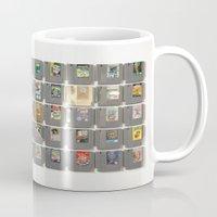 castlevania Mugs featuring 50 Nintendo Games by Jason Travis