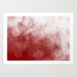 Cranberry Spotted Art Print