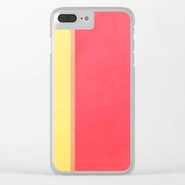 Calmer Colorz Clear iPhone Case