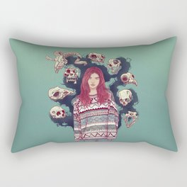 Fearless  Lady Rectangular Pillow